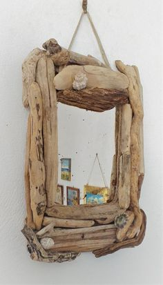 Driftwood mirror, Beach house mirror Entry Way bathroom patio kitchen Beach house decor, New year gift rustic home decor, Eco friendly gifts – Antonia Tzouani - Responsible New Year Gifts, Gifts For Mom, Mirror Restoration, Driftwood Mirror, Patio Kitchen, Urban Rustic, Beach House Decor, Home Decor, Easter Gift
