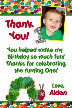 Very Hungry Caterpillar thank you (: