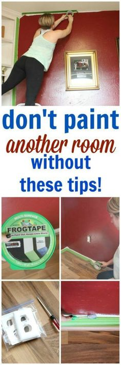 How To Paint A Room – 7 Must Have Tips to Prep for Painting Success! – Refunk My… How To Paint A Room – 7 Must Have Tips to Prep for Painting Success! – Refunk My… How To Paint A Room – 7 Must Have Tips to Prep for Painting Success! – Refunk My… How … Home Improvement Projects, Home Projects, Do It Yourself Inspiration, Design Inspiration, Diy Painting, Painting A Bedroom, Painting Hacks, Prepping Walls For Painting, Painting Room Tips