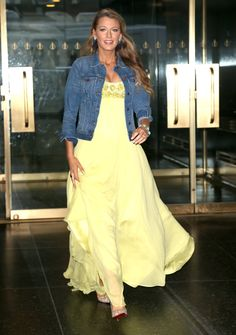 Pin for Later: Blake Lively Is Back on the Scene, Dressing Like Disney Princesses