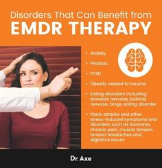 EMDR Therapy for Anxiety, PTSD & More: 5 Potential BenefitsEMDR therapy' which stands for Eye Movement Desensitization and Reprocessing therapy, was invented in the late by a psychologist named Francine . Anxiety Therapy, Trauma Therapy, Therapy Tools, Cognitive Behavioral Therapy, Kids Therapy, Occupational Therapy, Art Therapy, Exposure Therapy, Ptsd Symptoms