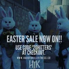 "EASTER SALE now on until Monday. Use the code ""20HITTTERS"" at the checkout for 20% off apparel. - New HTK colors have just dropped so get em before they go."