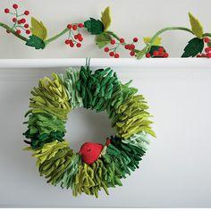 Felt Christmas Wreath | The Company Store