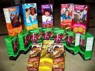 Girl Scout Cookies. Yum and damn you for being so tempting!