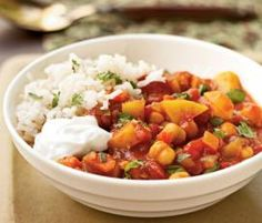Recipe Clone of Moroccan Chickpea Stew - 316 cals by elizmac - Recipe of category Main dishes - vegetarian