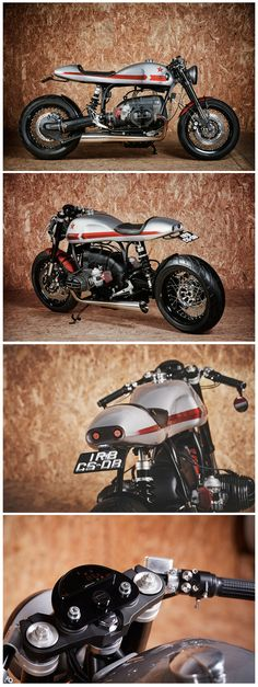A stunning BMW R80 Cafe Racer by It Rocks Bikes and Photo by Rui Bandeira Fotografia