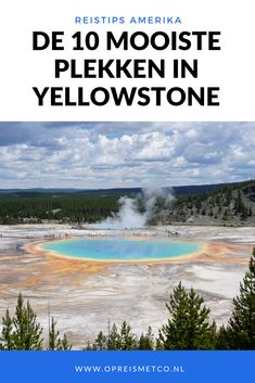 What are the places in Yellowstone you really have to visit? In this article I share my 10 favorite places in Yellowstone. babies flight hotel restaurant destinations ideas tips Usa Travel Guide, Travel Usa, Travel Guides, Travel Tips, Travel Articles, Cool Places To Visit, Places To Travel, Travel Destinations, National Parks Usa