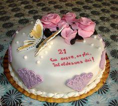 Tort aniversare casatorie | Blog Lumea Basmelor Decorated Cakes, Cake Decorating, Desserts, Blog, Tailgate Desserts, Deserts, Postres, Blogging, Dessert