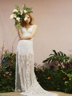 This new bridal label will blow your socks off, allow me to introduce you to Hermione de Paula. Earning her stripes working at the iconic design houses Christian Dior Couture, Alexander McQueen, John Galliano and Giles; Hermione de Paula made. 2016 Wedding Dresses, Designer Wedding Dresses, Wedding Gowns, Dresses 2016, Wedding Attire, Boho Wedding, Summer Wedding, Dream Wedding, Hermione