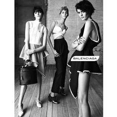 Asymmetric fashion Spring Summer 2013 from Balenciaga