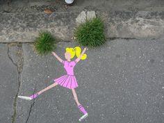 Le street-art de Sandrine Estrade Boulet !