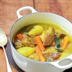 Colombo de porc aux légumes                                                                                                                                                                                 Plus