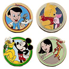 World of Disney ''Best Friends'' Mystery Pin Set