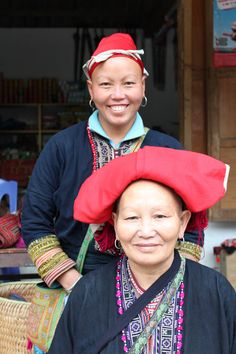 Ta May and her mother in Ta Phin village, Vietnam.