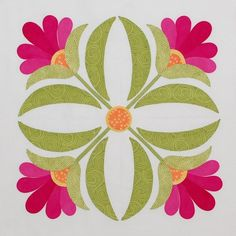 Florabunda Block 4 by erinrussek on Etsy, $2.00