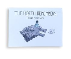 9 Birthday Cards Perfectfor the Pop Culture Buffin Your Life - Game of Thrones  - from InStyle.com