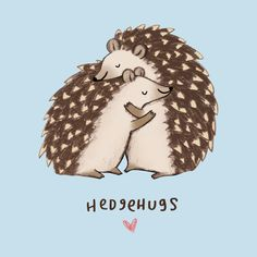 Check out this awesome 'Hedgehugs' design on @TeePublic!