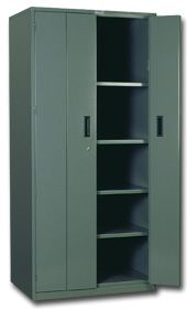 Heavy Duty Bi-Fold Door Cabinet