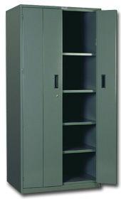 Heavy Duty Bi-Fold Door Cabinet