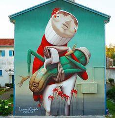 A new mural by @zed1_marco ・・・ L'amore sbagliato (wrong love) Dolo It 2017 ( non tutte le piante necessitano la stessa quantità d'acqua come non tutti necessitano lo stesso tipo di attenzioni ed amore ) Zed1@hotmail.it #zed1#urbanart#secondskin#arteurbano #zedone#paint #wall #graffito#walls #streetart #streetartpicture #streetartphotography #streetart_photography #art #arteurbano #urbanarea #urbanart #graffiti #tv_streetart #rsa_graffiti #dsb_graff #loves_street_art #all_wallshots…