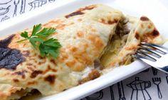 Lasaña de setas, un plato riquísimo para toda la familia   #RecetasItalianas #RecetasFáciles #ComidaItaliana #Lasaña #LasañaSetas #RecetasVegetarianas