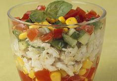 Verrines de merlu citronné aux petits légumes | Croquons La Vie - Nestlé