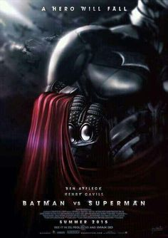 """Batman vs Superman"" soon.."
