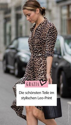Leo Print, Animal Print Outfits, Mantel, Dresses With Sleeves, Long Sleeve, Style, Fashion, Weight Loss Challenge, Styling Tips