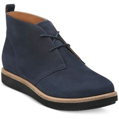 Clarks Artisan Women's Glick Willa Booties ($130) ❤ liked on Polyvore featuring shoes, boots, ankle booties, navy, clarks booties, clarks and clarks boots