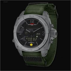 Gray MTM RAD Tactical Watch For Radiation Detecting