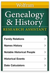 WolframAlpha can help you answer a lot of #genealogy questions like:  -Was your great-grandmother's name common at that time? -What happened on your grandfather's birthday? -What was the weather like on your grandparents' wedding day? -What were the towns they lived in like, including demographics, and how far are they from where you live? -What was 20 dollars' worth the year your great-grandmother was born? -What is the technical relationship between you and your grandfather's sister?