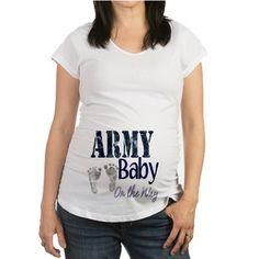 Army baby boy Maternity T-Shirt