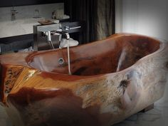 This tub that brings the outdoors to you: