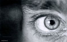 Beautiful and Realistic Pencil Drawings of Eyes | picz4pin