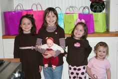 New years eve party idea for kids.  Bags labeled by the hour...you open it on the hour and do the activity.