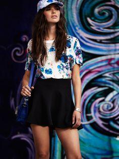 Lovers + Friends Naomi Blouse and Tatum Skirt