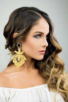 Bohemian Fashion Earrings Boho Fashion Christmas Gif for Her Gold Prom Jewelry Gold Chandelier E Prom Earrings, Wedding Earrings Drop, Lace Earrings, Prom Jewelry, Lace Jewelry, Bridal Earrings, Wedding Jewelry, Dangle Earrings, Macrame Earrings
