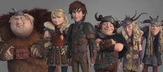 Making of How to Train Your Dragon 2