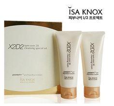 ISA KNOX X2D2 Turn-Over 28 Cleaning Cream & Foam Special Set 2Items K-Beauty #LGISAKNOX