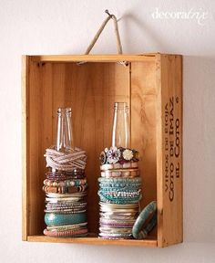 creative design ideas and crafts for jewelry storage