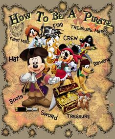 Judy Baggott uploaded this image to & Halloween Cruise& See the album on Photobucket. Pirate Pictures, Disney Pictures, Disney Art, Disney Pixar, Disney Characters, Disney Crafts, Mickey Mouse And Friends, Mickey Minnie Mouse, Walt Disney World Vacations