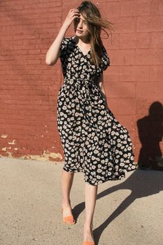 No. 6 - Anemone Scarlett Dress | BONA DRAG