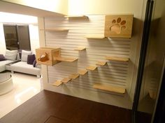 A Play Yard For Your Cat: Modular Cat Climbing Wall By Catswall Design | Cat  Climbing Wall, Play Yard And Climbing Wall