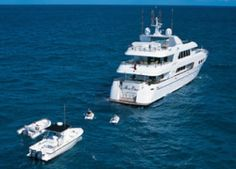 Luxury Yacht Charters Aboard the Relentless Motor Yacht
