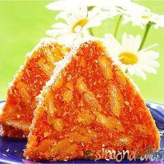 Salam de biscuiti de post cu morcovi si cocos Un desert deosebit, aspectuos, frumos colorat, foarte bun la gust si usor de preparat...