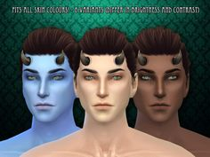 R skin 03 MALE OVERLAY by RemusSirion at TSR via Sims 4 Updates