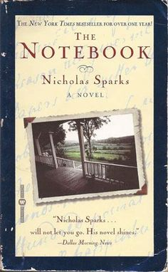The Notebook by Nicholas Sparks. I read this when it was first published and fell in love with the story. This is another book that I decided not to see the movie, simply because there is no way to make it as good as this story was.