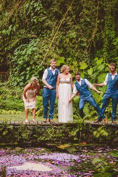 Exotische Hochzeit