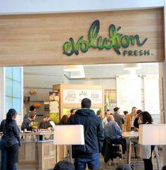 Starbucks Juice and Salad Bar Evolution Fresh Debuts