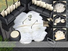 Sims 3 rug, rugs, carpet